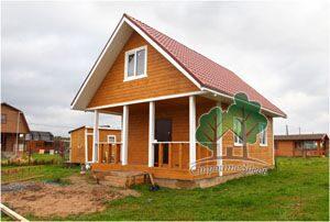 финский дом 6 на 8м